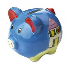 Piglet colorful bank