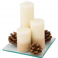 Set of Three Candles